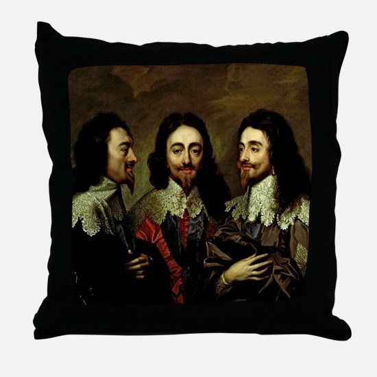 Charles I Throw Pillow