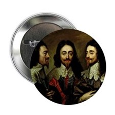 "Charles I 2.25"" Button"