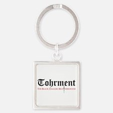 Tohrment Square Keychain Keychains