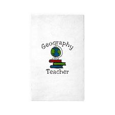 Geography Teacher 3'x5' Area Rug