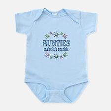 Aunties Sparkle Infant Bodysuit