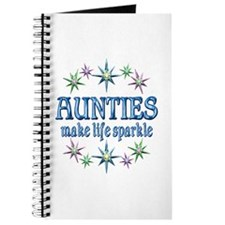 Aunties Sparkle Journal