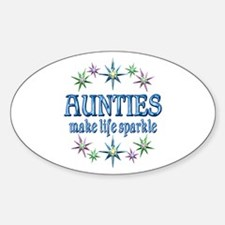Aunties Sparkle Decal