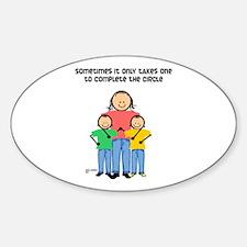 Scott Designs Oval Stickers