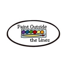 paint outside the lines Patches