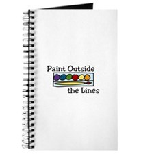 paint outside the lines Journal