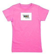 paint outside the lines Girl's Tee