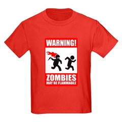 Zombies are Flammable T