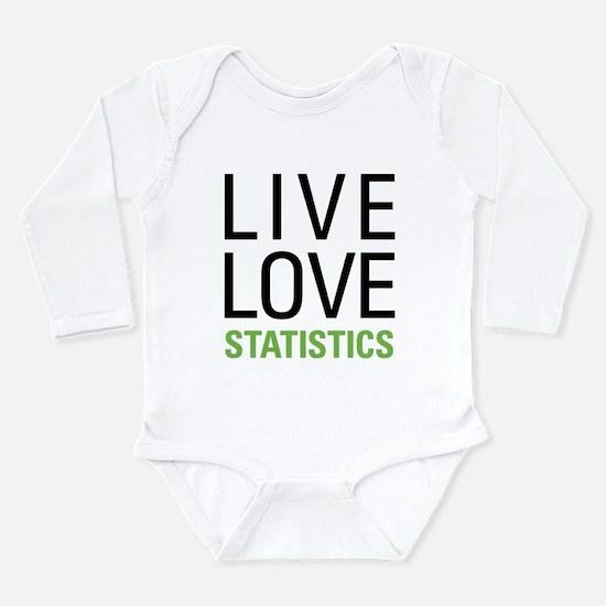 Statistics Long Sleeve Infant Bodysuit