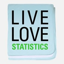 Statistics baby blanket