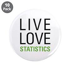 "Statistics 3.5"" Button (10 pack)"