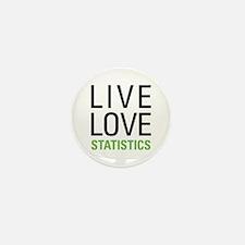 Statistics Mini Button (10 pack)