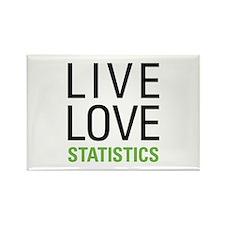 Statistics Rectangle Magnet