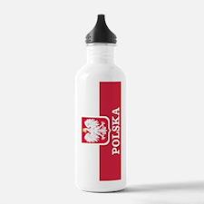 Personalized Polska Flag Polish Water Bottle