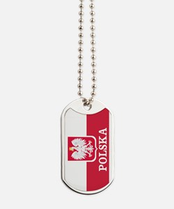 Personalized Polska Flag Polish Dog Tags