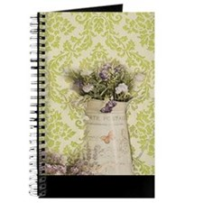 western country lavender damask Journal