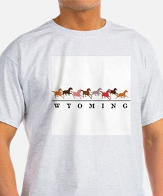 Wyoming horses T-Shirt