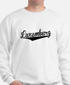 Luxemburg, Retro, Sweatshirt