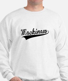 Mackinaw, Retro, Sweatshirt