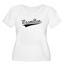 Macmillan, Retro, Plus Size T-Shirt