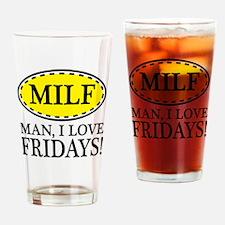 M.I.L.F Drinking Glass