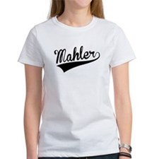 Mahler, Retro, T-Shirt