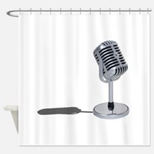 PillMicrophone042211.png Shower Curtain