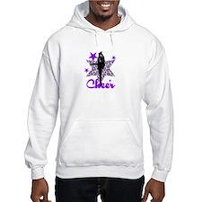 Purple Cheerleader Hoodie