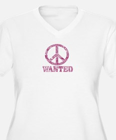 Peace Wanted Plus Size T-Shirt