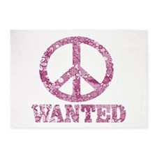 Peace Wanted 5'x7'Area Rug