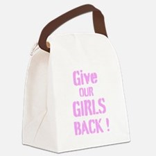Give Our Girls Back Canvas Lunch Bag