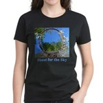 Shoot for the Sky Women's Dark T-Shirt
