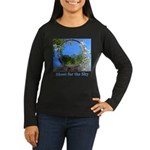 Shoot for the Sky Women's Long Sleeve Dark T-Shirt