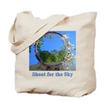 Shoot for the Sky Tote Bag