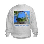 Shoot for the Sky Kids Sweatshirt