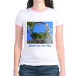 Shoot for the Sky Jr. Ringer T-Shirt