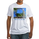 Shoot for the Sky Fitted T-Shirt