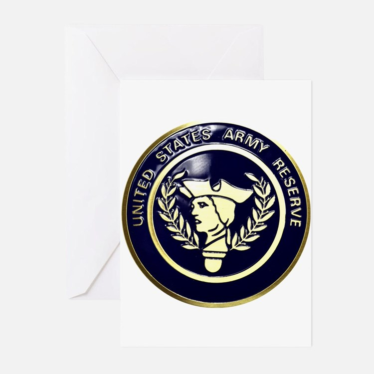 USA Reserve Logo Greeting Cards (Pk of 10)