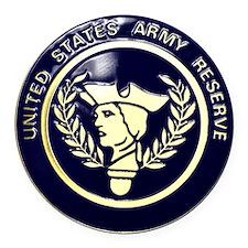 USA Reserve Logo Round Car Magnet