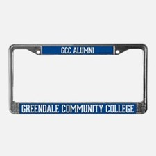Greendale Community College License Plate Frame