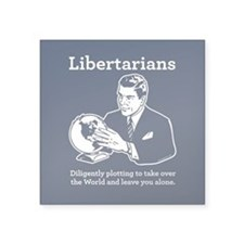 The Libertarian Plot Sticker