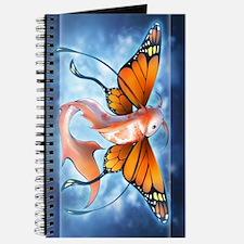 Butterfly Koi Fish Journal