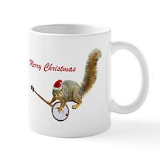 Merry Christmas Banjo Squirrel Mug Mugs