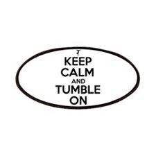 Keep Calm and Tumble On Patches