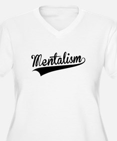 Mentalism, Retro, Plus Size T-Shirt