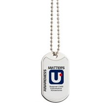 Ubnappd Logo Against Child Exploitation Dog Tags