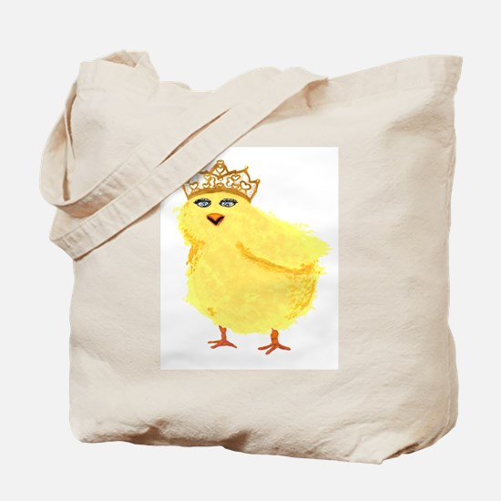 queen of all chicks Tote Bag