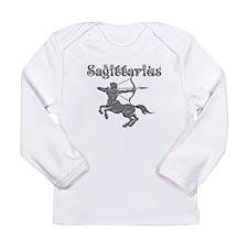 Saggittarius for dark b Long Sleeve Infant T-Shirt