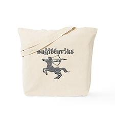 Saggittarius for dark backgrounds Tote Bag