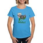 Nihilist Skull Women's Dark T-Shirt